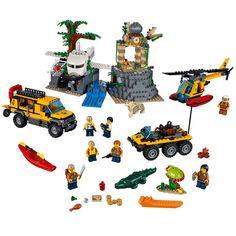 LEGO City Jungle Explorers Jungle Exploration Site 60161 Building Kit 813 Piece