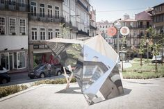 Fragments is a piece of multiple contexts, a perfect camouflage between the city and citizens. An experimental temporary installation and adaptable to public...