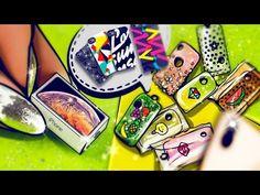 Miniature Dollhouse In A Walnut Tutorial // DIY Mouse House Dollhouse Tutorials, Diy Dollhouse, Dollhouse Miniatures, Lps, Clay Baby, Barbie Dream, Lol Dolls, Barbie Furniture, Diy Clay