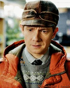 martin in fx fargo  he looks so adorable and tiny!!!!