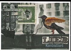 mail art by Susanna Lackner from Stuttgart Germany