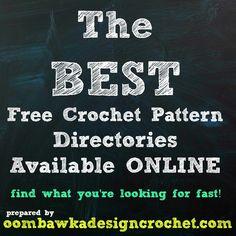 The BEST Free Crochet Pattern Directories Online
