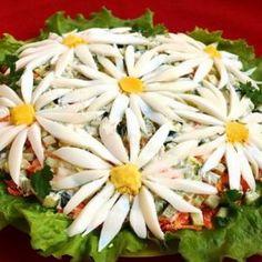 "Salad ""Camomile field"""