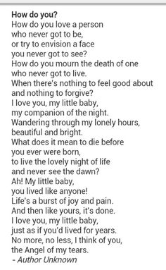 Miscarriage Quote