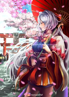 Kagura Cherry Witch Mobile Legends by HensenFM.deviantart.com on @DeviantArt