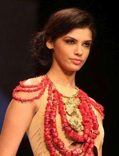 Eina Ahluwalia's Collection At Lakme Fashion Week 2012   Fandiz India - Latest Indian Fashion Trends