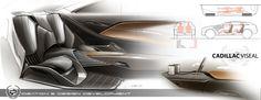 Cadillac Interior concept on Behance