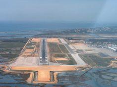 A Terceira Dimensão - Fotografia Aérea: Aeroporto de Faro
