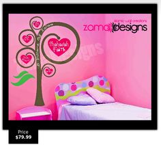 5 Pillars of Islam Heart Tree - Exclusive to Zama Designs 5 Pillars, Pillars Of Islam, Heart Tree, Islamic Wall Art, African American Art, To My Daughter, Decorative Items, Art For Kids, Playroom
