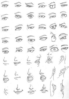 eye drawing tips, realistic or cartoon easy Realistic Eye Drawing, Body Drawing, Anatomy Drawing, Mouth Drawing, Drawing Hair, Figure Drawing, Drawing Techniques, Drawing Tips, Drawing Sketches
