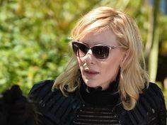 Cate Blanchett ließ sich in Cannes mit schicker Sonnenbrille blicken
