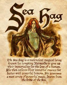 """Book of Shadows:  """"Sea Hag,"""" by Charmed-BOS, at deviantART."""