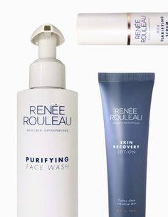 This collection includes basic Renée Rouleau products so you can be on your way to calmer, clearer and more balanced skin.