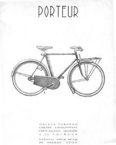 Alex Singer type Porteur (1949) illustration found on blackbird