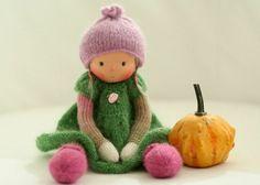 """Die erste """"Peperuda"""" Waldorf Puppe hat Daniela für ihre Kinder gemacht. Damals hat sie sich sehr mit dem Thema """"Waldorf Puppen """" auseinander gesetzt und fand"""