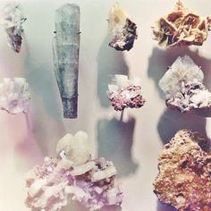 The Hall of Minerals at the American Museum of Natural History. Photo by @Jamala Johns