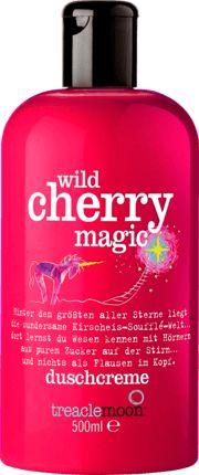 Treacle Moon Wild Cherry Magic kollekció (tusfürdő, tesápoló, kézkrém, testradír)