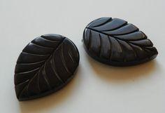 Amazing Vintage Hand Carved Black Bakelite by RevampedVintage1973,
