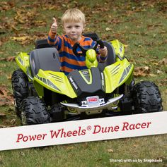 GIve kids the ultimate gift this holiday season! #FisherPrice #PowerWheels #Toys #Playtime #Christmas