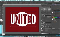 Create a knockout effect in Illustrator