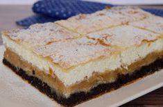 Citromhab: Háromtöltelékes rétes Sweet Recipes, Cake Recipes, Eastern European Recipes, Oreo Cupcakes, Banana Split, Strudel, Vanilla Cake, Nutella, Tiramisu