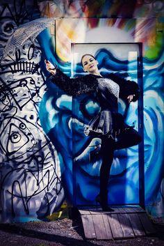 Tänzerin:model: T. Pazek; photo: L. Graf
