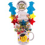 Lollipop Bouquet is a delicious alternative to giving Flowers! All Lollipop Bouquets backed by our satisfaction guaranteed! Choose your lollipop bouquet today! Lollipop Bouquet, Lollipop Candy, Candy Bouquet, Graduation Presents, Graduation Ideas, Giving Flowers, Candy Apples, Hard Candy, Gift Baskets