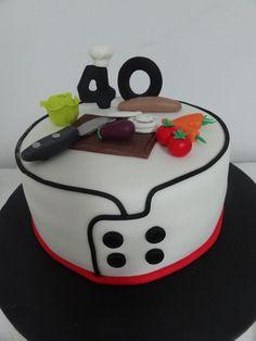 Resultado de imagen para chef cake