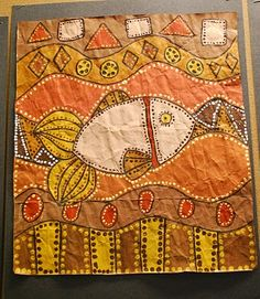a Wonderful Life: A Few More Paintings from Art Club Indigenous Australian Art, Indigenous Art, Indigenous Education, 6th Grade Art, Ecole Art, Wow Art, Middle School Art, Art Lessons Elementary, Fish Art