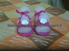 Sandaletti neonata