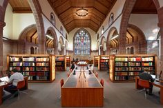Page\Park - Projects - Martyrs Kirk Reading Room, University of St.Andrews
