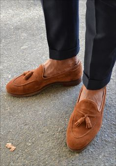 Tassel Loafers : Crockett & Jones