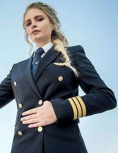 Women Pilot Dressed In Formal Uniform | Karla | Flickr