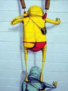 Artist: Os Gemeos in San Diego