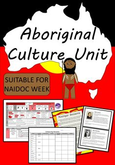 Aboriginal Culture Unit -Great for NAIDOC Week or Year 3/4 ACARA