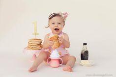 The cutest cake smash by Twenty Seven Photography.