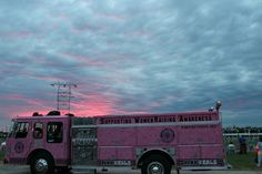 Pink Fire Truck,  Breast Cancer Awareness Month