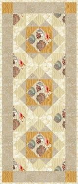 Beachcomber Free Pattern Download-by Christine Stainbrook--Free patterns provided by RJR Fabrics.  49'' x 21''