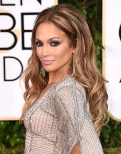 Golden Globes Best Beauty Looks | Jennifer Lopez