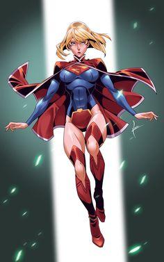 #Supergirl #Fan #Art. (Supergirl) By: KevinTUT.