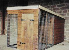 single dog run or chicken coop
