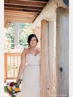 gorgeous bride Holly wearing Sophia Tolli Kenley - She is beautiful