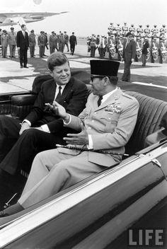 Soekarno -John F.Kennedy