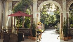 FRANCIS FORD COPPOLA RETURNS TO HIS ROOTS WITH HIS LATEST BOUTIQUE HOTEL: PALAZZO MARGHERITA, SET IN HIS GRANDFATHER'S HOMETOWN IN THE SOUTH OF ITALY.  Read More http://www.wmagazine.com/travel/2011/11/francis-ford-coppola-hotel-italy#ixzz1pnVIGNVI