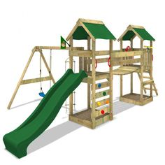 Climbing frame SunFlyer with swing