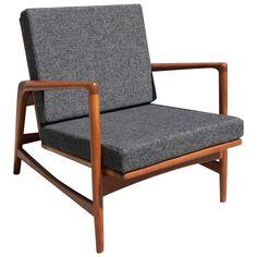 Ib Kofod-Larsen Recliner Lounge Chair
