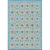 Found it at Wayfair - Harlow Pistachio Blue Area Rug