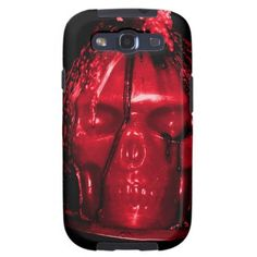 Halloween Skull Candle (Red) Galaxy SIII Cover
