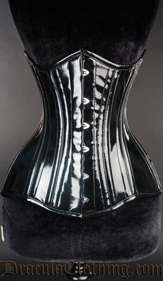 Affordable goth, victorian and steampunk clothing and corsets Pvc Corset, Waist Cincher Corset, Sexy Corset, Underbust Corset, Black Corset, Emo Fashion, Gothic Fashion, Womens Fashion, Steampunk Clothing