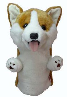 Corgi Golf Head Cover This adorable Corgi Golf Head Cover is a design by Daphnes Head Covers that will add some character to your golf bag. Let Your Personality Shine Through on the Golf Course! These